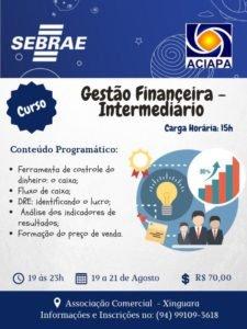 Curso: Gestão Financeira – Intermediário